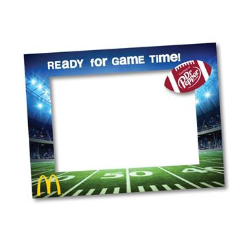 "Picture of ""Ready for Game Time!"" Selfie Frame"