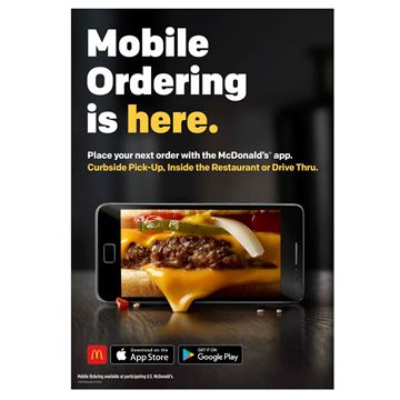 Picture of Mobile Ordering Window Decal