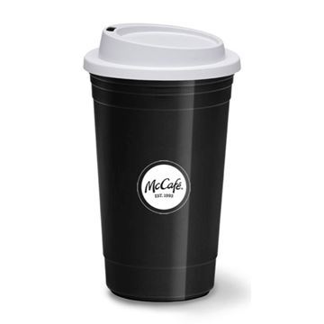 Picture of 15 oz McCafe Circle Travel Mug