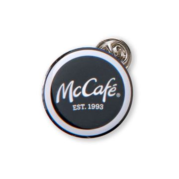 Picture of McCafe Round Lapel Pin