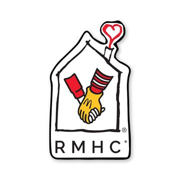 Picture of RMHC House Large Lapel Pin