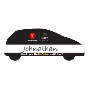 Picture of McDelivery Event Name Badge - 30 per Pack