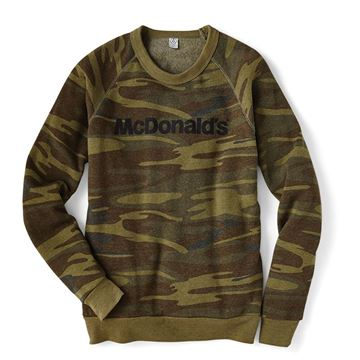 Picture of EcoFleece Long Sleeve Camo Thermal