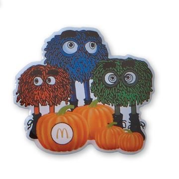 Picture of Fry Guys in Pumpkin Patch Lapel Pin
