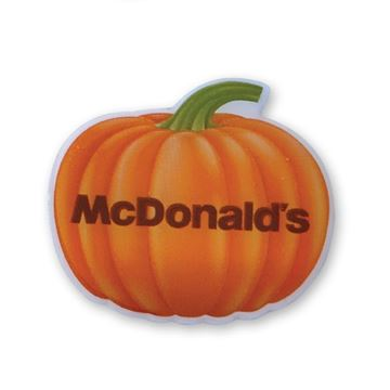 Picture of McDonald's Carved Pumpkin Lapel Pin