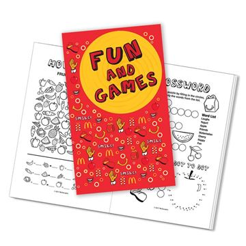 Picture of McD's Activity Book - 100 per Case