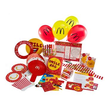 Picture of Graphic McD's All-in-One Party Kit