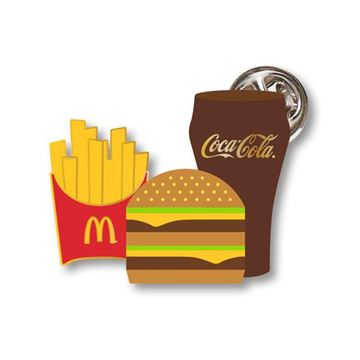 Picture of Extra Value Meal® Lapel Pin