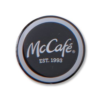 Picture of McCafe Round Buttons - 50 per Pack