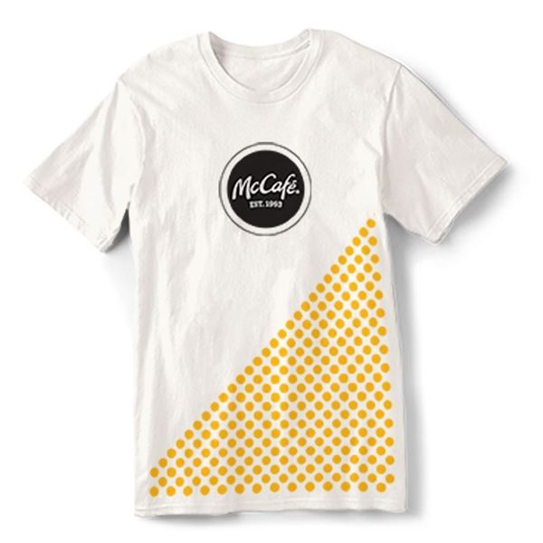 Picture of McCafe White T-Shirt