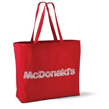 Picture of McDonald's Red Fair Isle Tote Bag