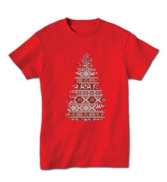Picture of Holiday Tree Fair Isle T-shirt