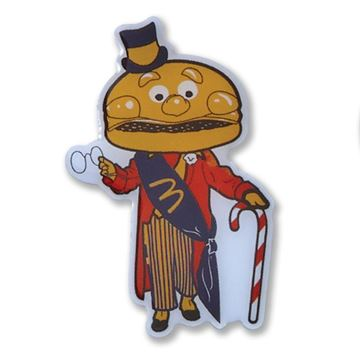 Picture of Mayor McCheese Holiday Lapel Pin