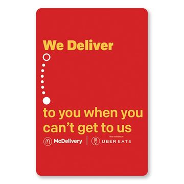 Picture of McDelivery Red Button - 30 per Pack