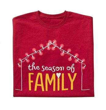 Picture of Red Family Holiday T-Shirt