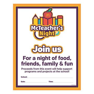 Picture of McTeacher's Night School Poster