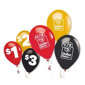 Picture of D123 Balloons - 150 per Pack