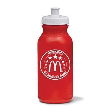 Picture of All American Games Red Water Bottle