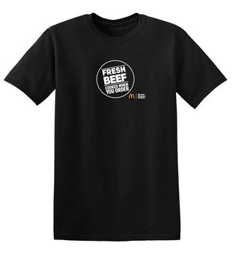 Picture of FRESH BEEF Black T-Shirt