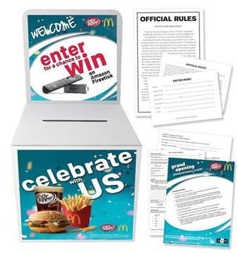 Picture of Dr Pepper Pop Kit Sweepstakes