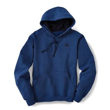 Picture of Blue McDonald's Hoodie