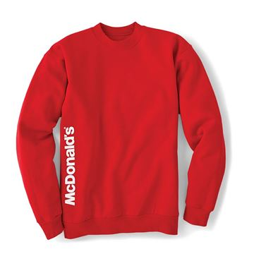 Picture of McDonald's Red Crewneck Sweatshirt