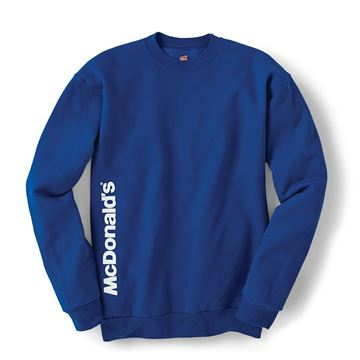 Picture of McDonald's Blue Crewneck Sweatshirt