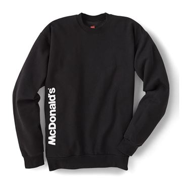 Picture of McDonald's Black Crewneck Sweatshirt