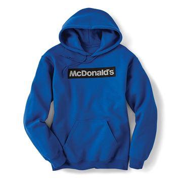 Picture of Block McDonald's Blue Hoodie