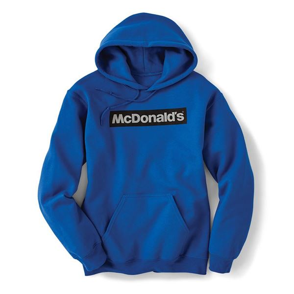 Picture of Block McDonald's Blue Hoodie
