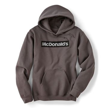 Picture of Block McDonald's Grey Hoodie