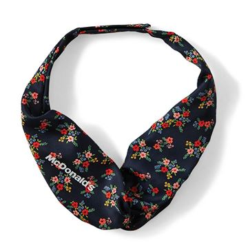 Picture of Ladies' Navy Blue Floral Print Tie