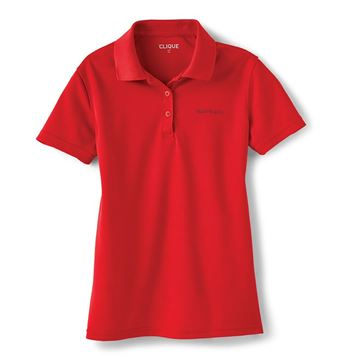 Picture of Ladies' Red Event Polo