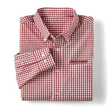Picture of Men's Red Gingham Button Down