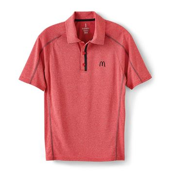 Picture of Men's Red Sport Performance Polo