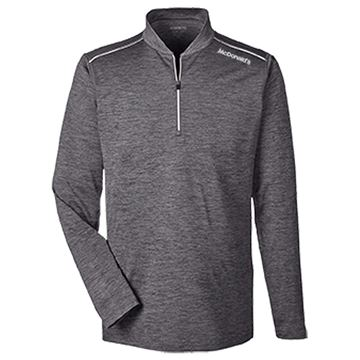 Picture of Men's Grey Performance 1/4 Zip Pullover