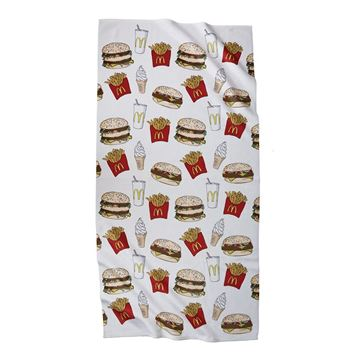 Picture of Food Art Beach Towel