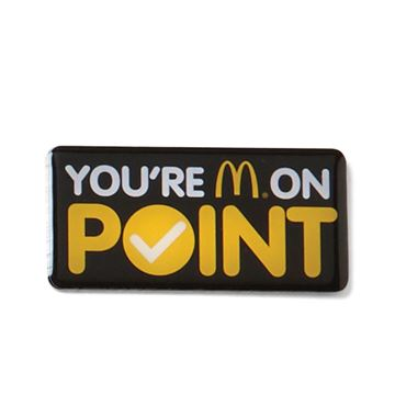 Picture of You're On Point Lapel Pin