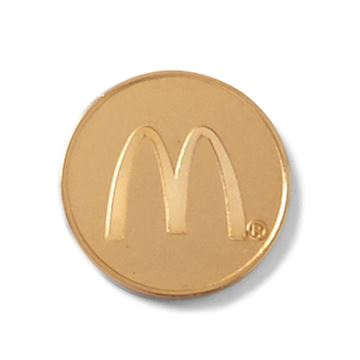 Picture of Gold Arches Lapel Pin