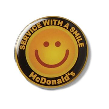 Picture of Service With A Smile Lapel Pin