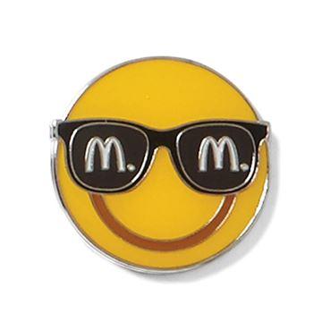 Picture of Sunglasses Emoji Lapel Pin