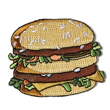 Picture of Big Mac Iron-On Patch