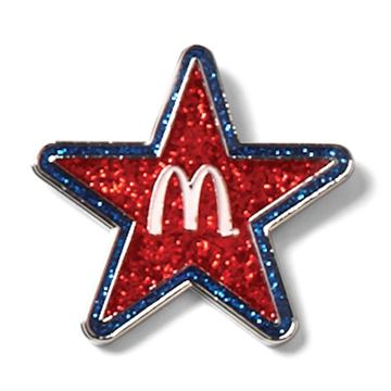 Picture of Glitter Star Lapel Pin