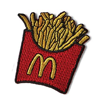 Picture of Fry Box Iron-On Patch