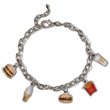 Picture of Food Art Charm Bracelet