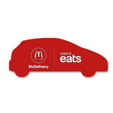 Picture of McDelivery Red Magnets - 50 Pack
