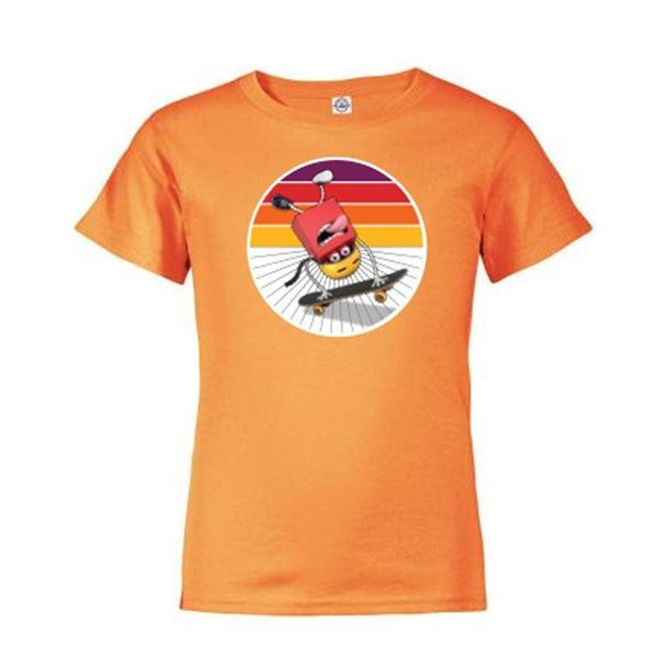 Picture of Youth Happy Skateboard T-Shirt