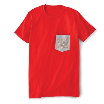 Picture of Red Pocket T-Shirt