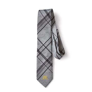 Picture of Men's Grey Plaid Tie