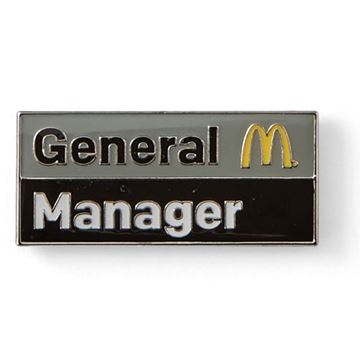 Picture of General Manager Lapel Pin